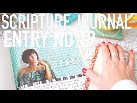 Scripture Journal   Entry No. 19