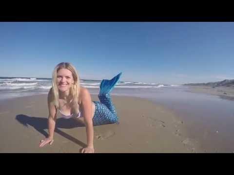 Mermaid on the beach!