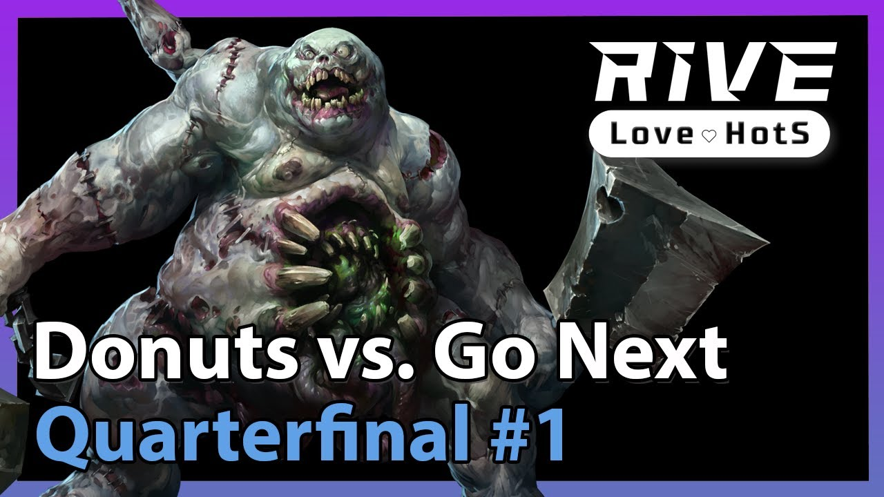 Donuts vs. Go Next - Rive Cup - Heroes of the Storm 2021