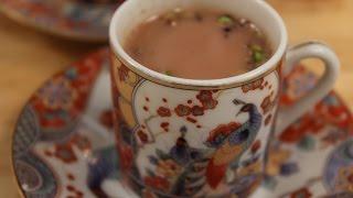 Noon Chai (Kashmiri Tea)   Sanjeev Kapoor Khazana