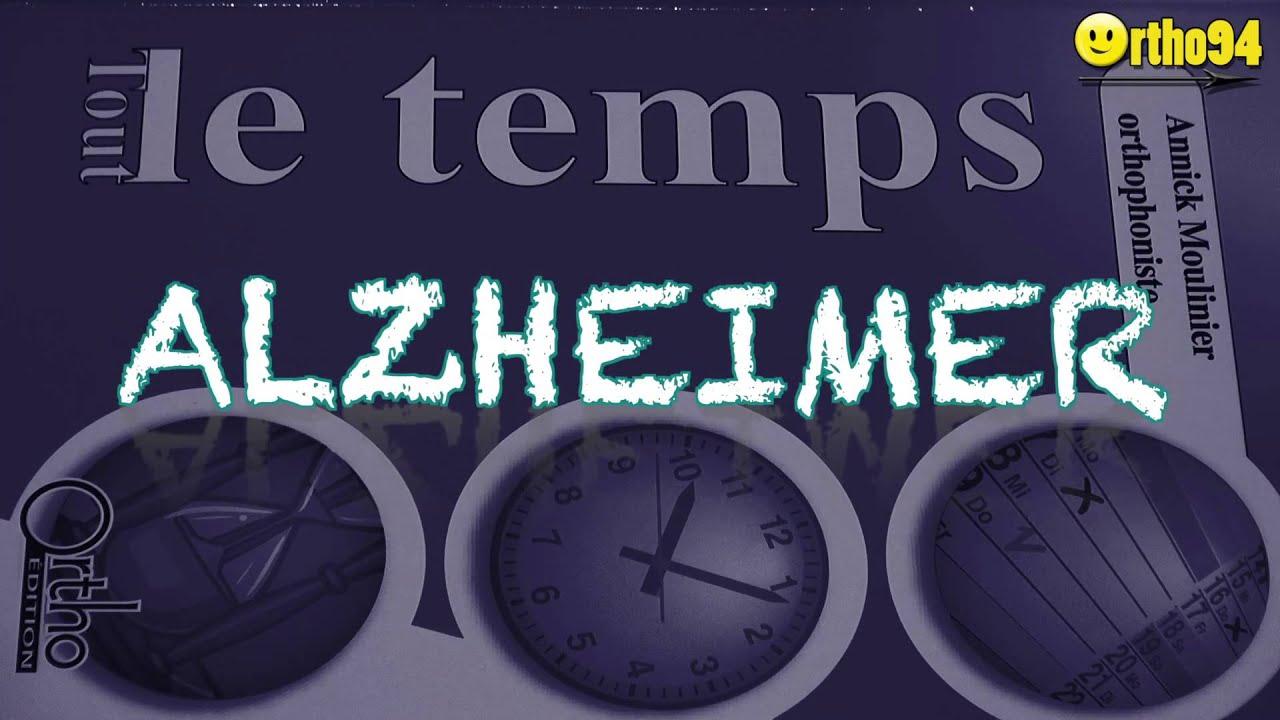 Bevorzugt ALZHEIMER APHASIE et désorientation spatio temporelle - YouTube PJ05