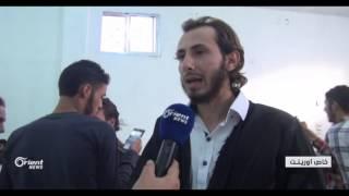 """قناة """"إنسان الخيرية"""" تقيم حفل زفاف جماعي لـ 72 عريسا في حلب"""