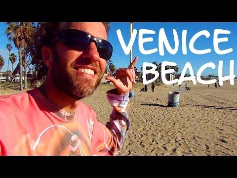 A Radical Tour of VENICE BEACH: Cool California Beach Scene
