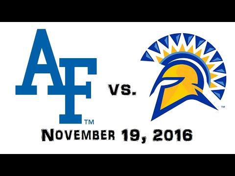 November 19, 2016 - Air Force Falcons vs. San Jose State Spartans Full Football Game 60fps