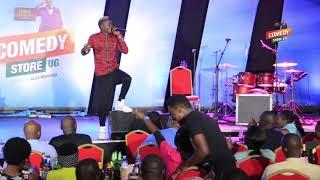 Alex Muhangi Comedy Store May 2018 - King Saha