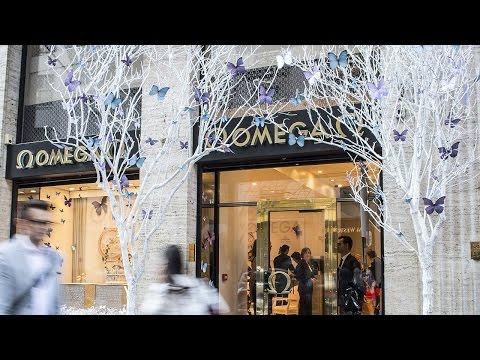 Vogue Fashion's Night Out 2014 at the OMEGA Boutique, Faubourg Saint-Honoré, Paris