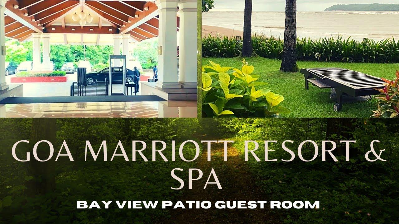 Download Hotel & Room Tour   Beach Facing Room   Marriott Goa Resort & Spa   5 Star property   Panji Miramar 