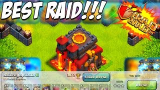 CLASH OF CLANS | RAID OF THE YEAR! | My BEST ATTACK of the New Update!