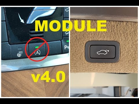 Remote close tailgate from key fob & Disabling Start/Stop function.