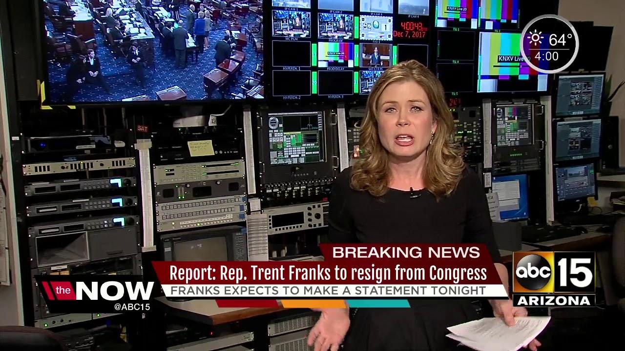 Arizona Rep. Trent Franks expected to resign