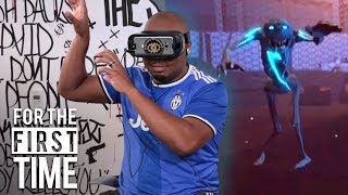 The SquADD Tries Virtual Reality | For The First Time