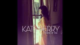 Katy perry - thinking of you //audio ...