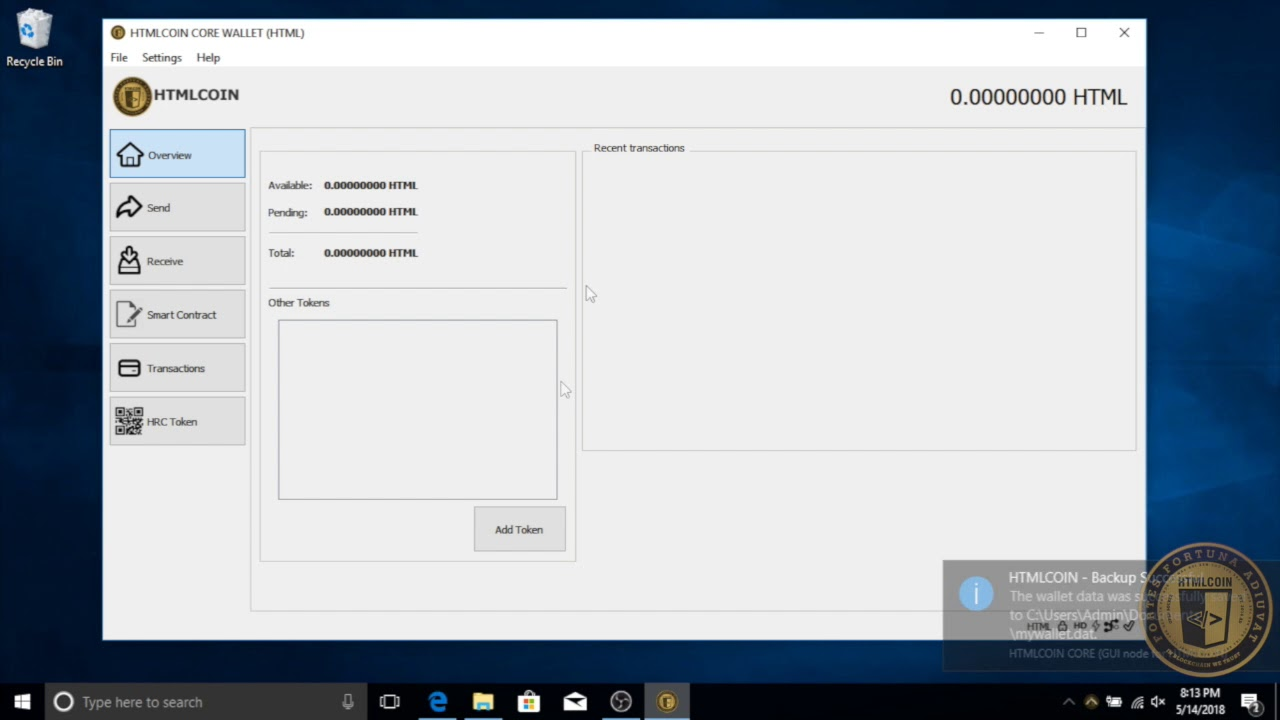 04 Backup and Restore Wallet