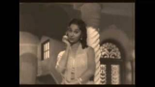 film c.i.d (1956) shamshad begum:kahin pe nigahen