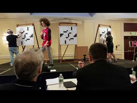 American Crossword Puzzle Tournament 2018 Finals