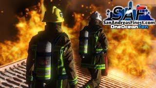 SA'F #182 - Structure Fire! | GTA V RP