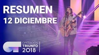 Resumen diario OT 2018 | 12 DICIEMBRE