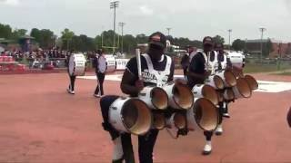 VSU MARCHING BAND FIRST GAME SEPT 2016