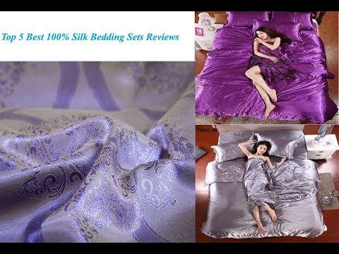 top-5-best-100%-silk-bedding-sets