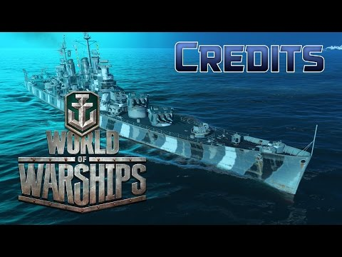 World of Warships - Credits