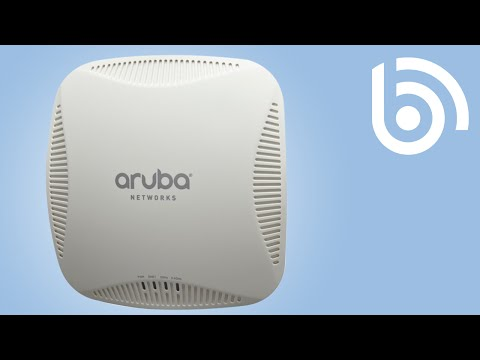 Aruba: How to set up your remote access point