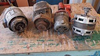 видео Способы подключения электродвигателей