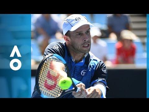 Malek Jaziri v Gilles Muller match highlights (2R) | Australian Open 2018