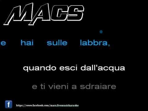 Karaoke - Sapore di sale - Gino Paoli