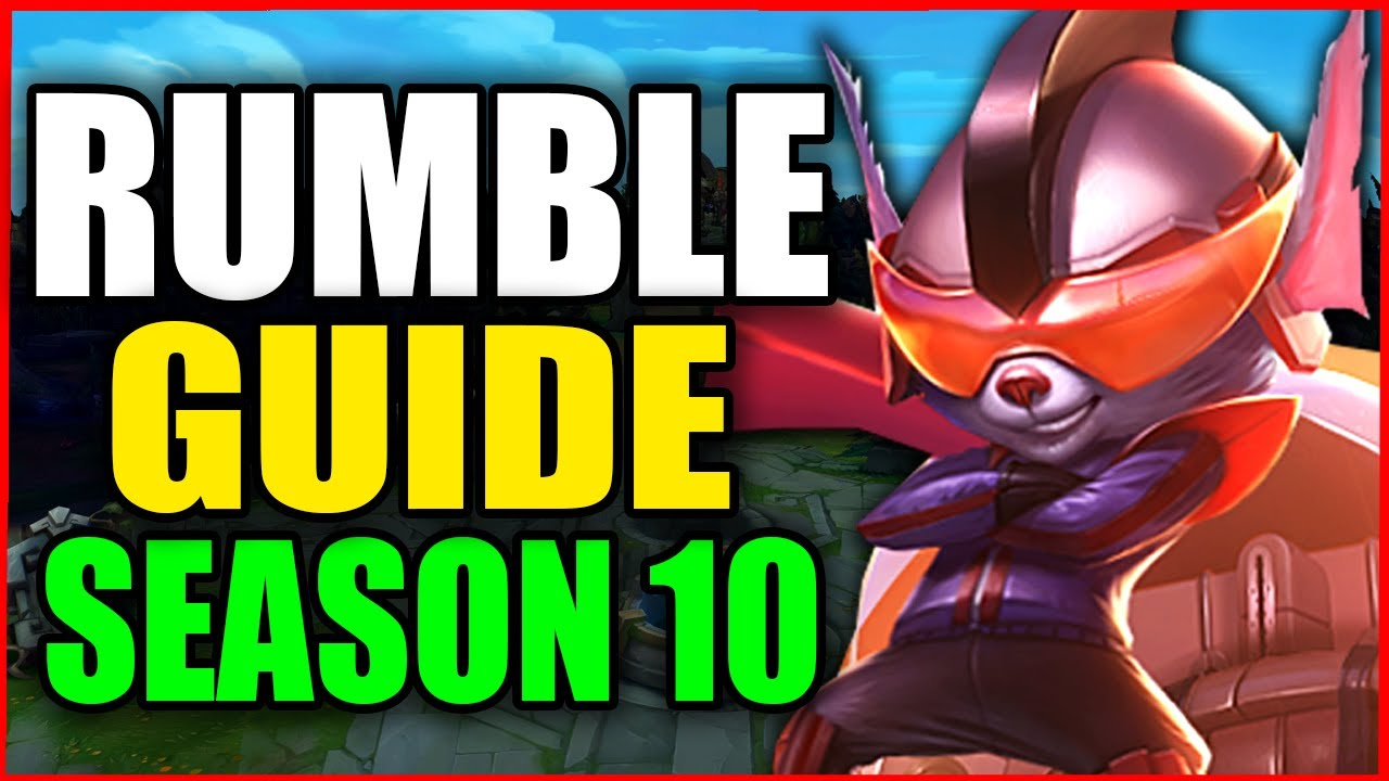 How to Play RUMBLE for BEGINNERS (Best Build, Runes, Season 10) S10 Rumble Gameplay Guide