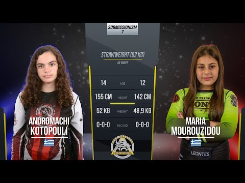 Submissionism 7: Andromachi Kotopouli vs. Maria Mourouzidou Full Fight