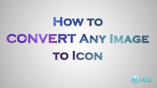 How to convert any image to icon