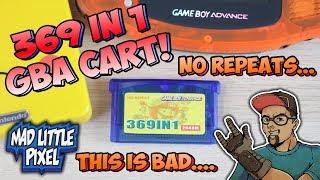 Nintendo Game Boy Advance 369 Games Multi Cart.... No Repeats Is A Lie!