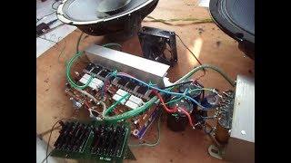 Mudah dimengerti.! Cara merakit power amplifier + Equaliser