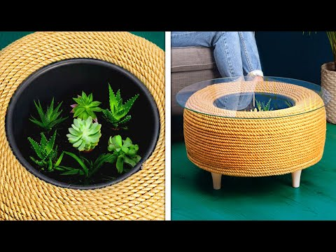 Beautiful HOME DECOR Ideas And DIY Furniture That Will Make You Say Wow