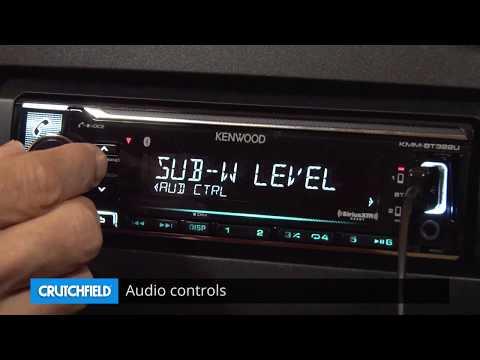 Kenwood KMM-BT322U Display and Controls Demo | Crutchfield Video