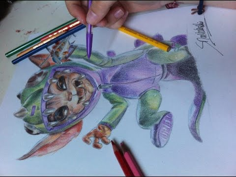 League of Legends Gnar [Drawing] - YouTube