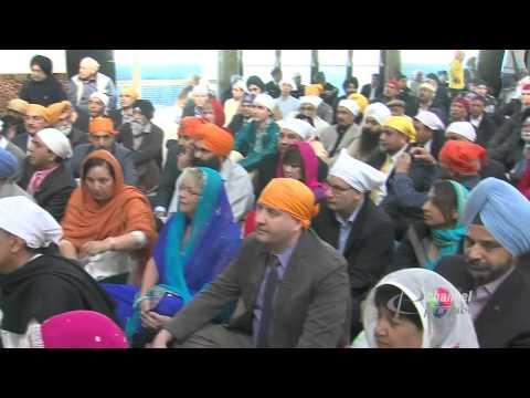 Raw: Channel Punjabi Coverage Of Vancouver Nagar Kirtan 2014