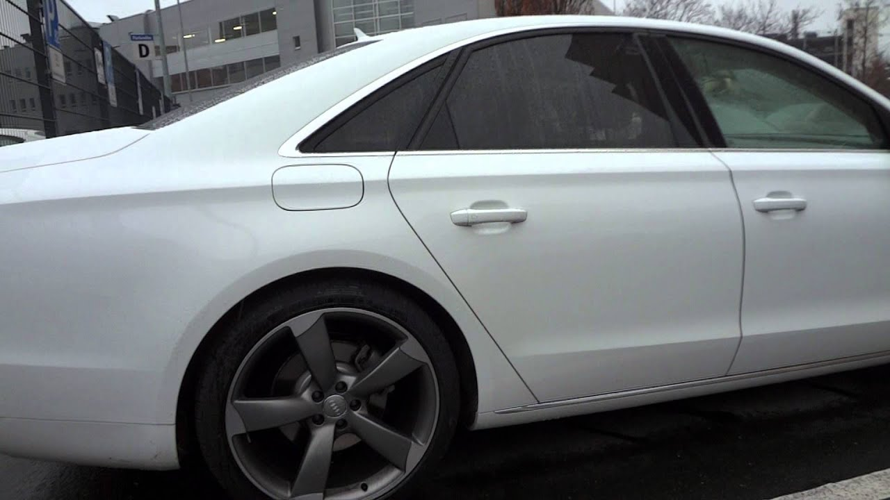 Audi A8 W12 >> 2012er - AUDI A8 S8 - D4 - W12 - 4,2 V8 new Modell with Full LED Front Lights Quattro - YouTube
