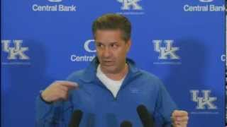 Kentucky Wildcats TV: Coach Calipari Pre-LSU Press Conference