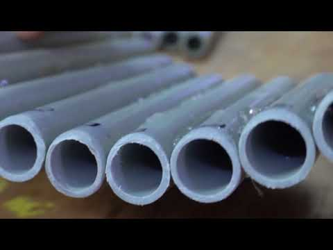 Make your own Pan flute with PVC pipe in simple steps