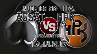 Nuorten SM-Liiga, Ässät - HPK 1.4.2017