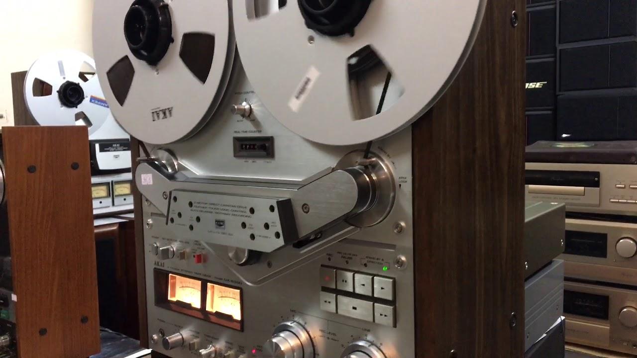 Đẹp như chưa hề sử dụng – đầu băng cối Akai GX-635D nút đỏ – tại HÙNG HUYỀN ĐÔNG ANH