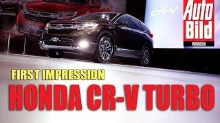 Honda CR-V Turbo 2017 | First Impression Review | Auto Bild Indonesia
