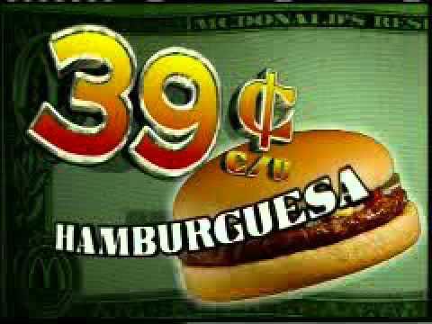El Guapo Universal Recording Artists Tax Day McDonald's Commercial