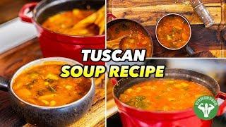 Tuscan Soup Recipe - Mediterranean Diet
