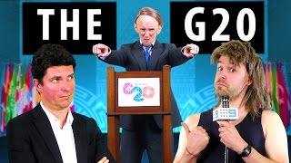 G20 Rap with Tony Abbott - feat. Senator Scott Ludlam [RAP NEWS 29](Welcome to Rap News. The G20 Summit is happening and the leaders of the wealthiest nations on the planet are converging on Australia to come and learn ..., 2014-10-23T13:41:43.000Z)