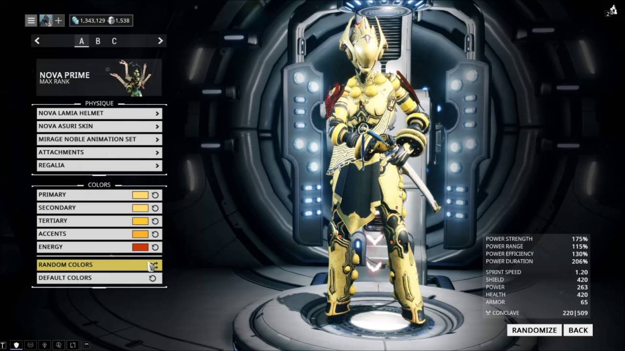 Warframe Sotr Asuri Nova Skin Youtube There are many focus ways that can benefit you in warframe, but these are some of the best to this affinity bonus also increases the effective range of trinity's blessing, harrow's covenant, and this naramon passive will only reduce a melee weapon's combo counter by 5 after its duration. warframe sotr asuri nova skin