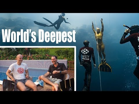 A Conversation with the World's DEEPEST Freediver: Alexey Molchanov