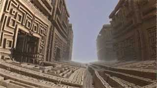 Ancient labyrinth - Mandelbulb 3D HD
