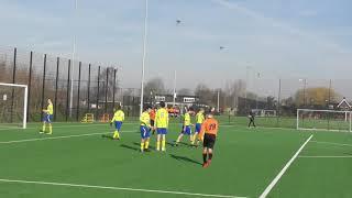 16 feb 2019 VV De Meern O16-1 - Legmeervogels O16-2 bkr 4-0 Doelpunt Emre (4-0)